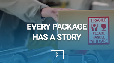 Every package has a story