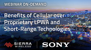 Discover the Benefits of Cellular over Proprietary LPWA or Short-Range Technologies